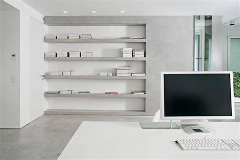 libreria in muratura microcemento per rivestire senza fughe e giunzioni cose