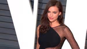 Come With Me Oscars Viewing by Irina Shayk Arrives At The Vanity Fair Oscars Bash In A