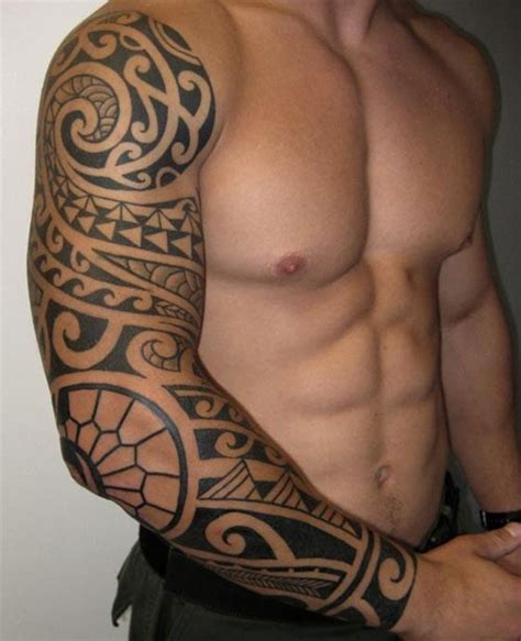 tatouage dessin tribal bras images