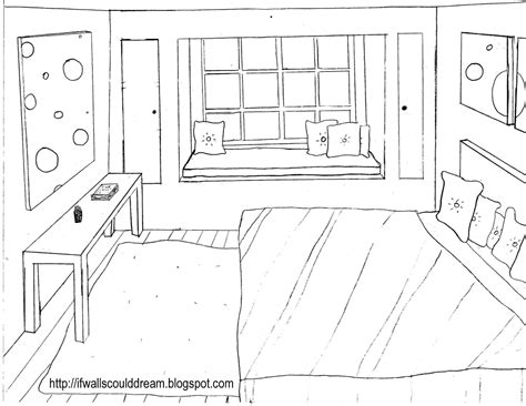 how to draw a bedroom if walls could dream january 2010