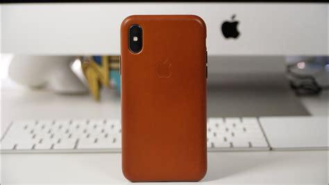 Apple Iphone X Leather apple iphone x leather review