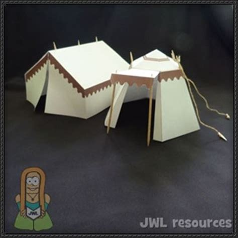Origami Circus Tent - three tent papercrafts free templates