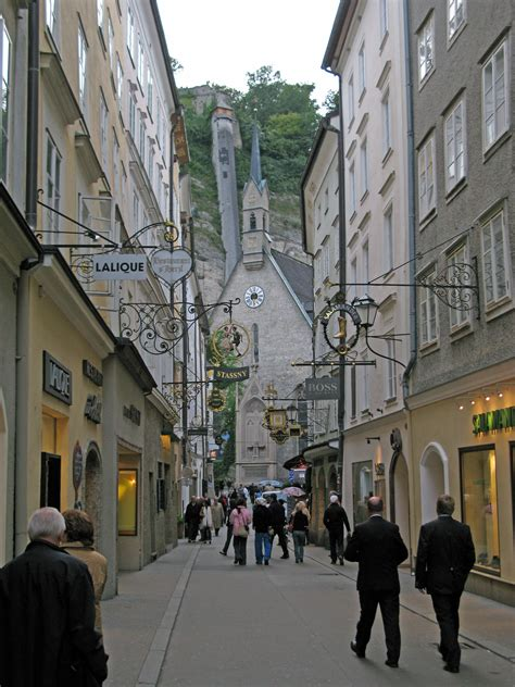 Mozart Born City | check out the city where mozart was born getreidegasse