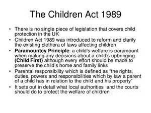 the children act 1989