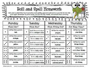 sailing through 1st grade roll and spell homework