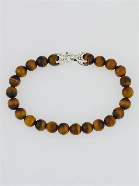 david yurman spiritual bead bracelet david yurman 8mm tiger s eye spiritual bead bracelet