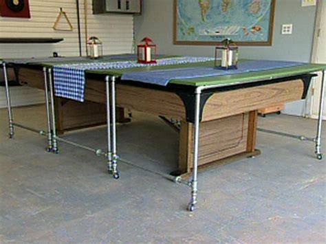 how to make a pool table how to build rolling pool table covers hgtv
