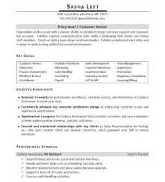 Professionally written entry level resume example