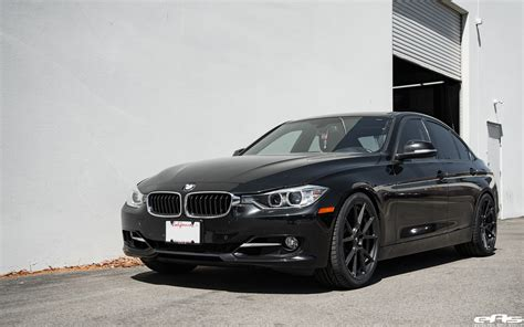 bmw black black sapphire metallic bmw 328i gets vorsteiner v ff 106