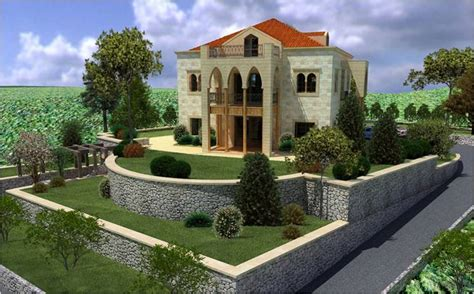 Attic Area by Villa Rimhala Is One Of The Lebanese Type Of Villa Triplex
