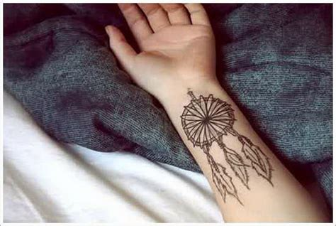 tattoo designs for girls on hand dreamcatcher drawing catchers drawings small