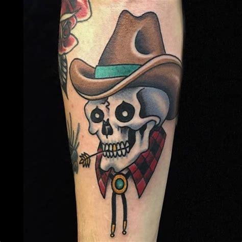 cowboy skull tattoo 10 daring cowboy skull tattoos tattoodo