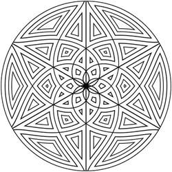 geometry coloring pages free printable geometric coloring pages for adults