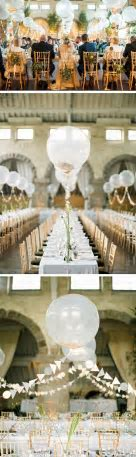 50 Awesome Balloon Wedding Ideas   Tablescapes