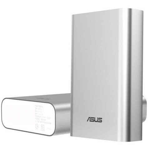 Power Bank Zenpower 10050mah asus zenpower power bank 10050mah silver 1