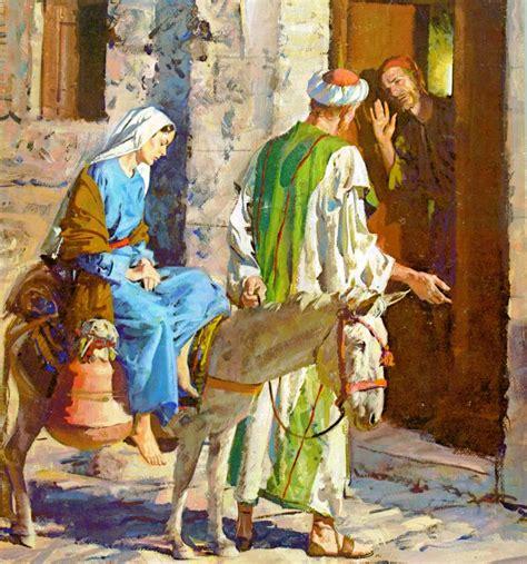 imagenes de nacimiento de jesus maria y jose maria y jose