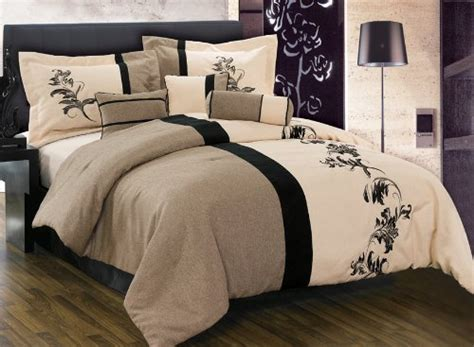 black and cream comforter black and cream bedding grand sales 8 pieces luxury brown