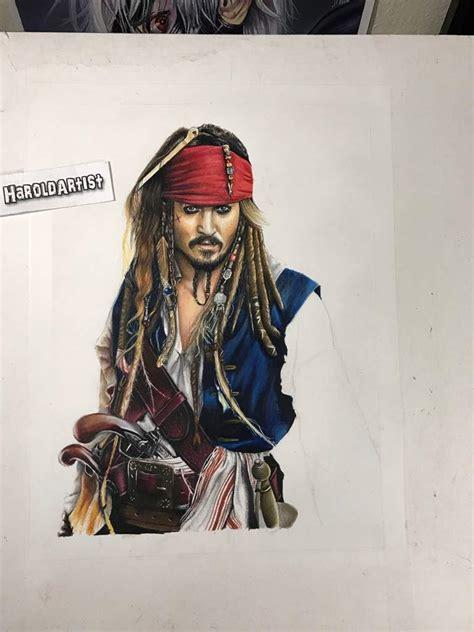 imagenes de jack sparrow dibujo de jack sparrow de los piratas del caribe arte
