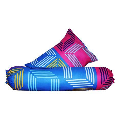 Monalisa Disperse Sarung Bantal 3 monalisa sarung bantal guling oval biru aneka textile