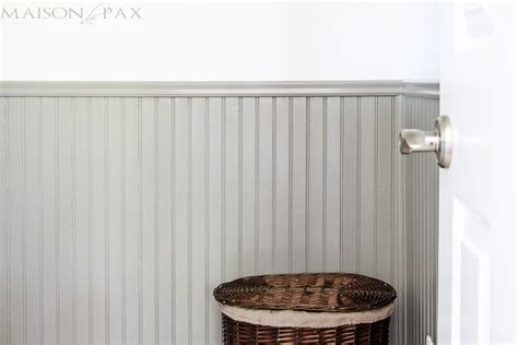 Wainscoting Painting by Tips For Painting Wainscoting Maison De Pax