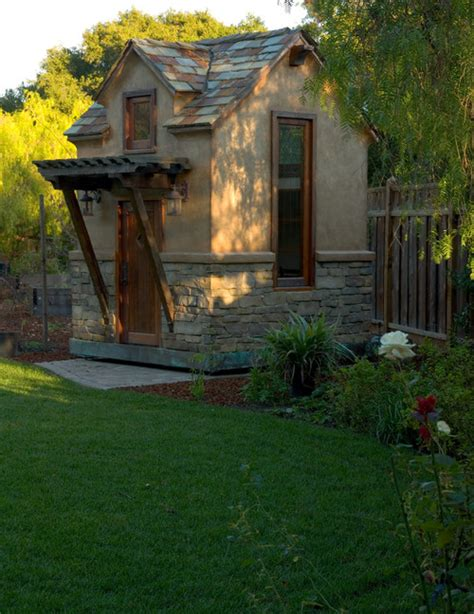 Small Backyard Cottage by Tiny Houses Small Spaces Backyard Cottage