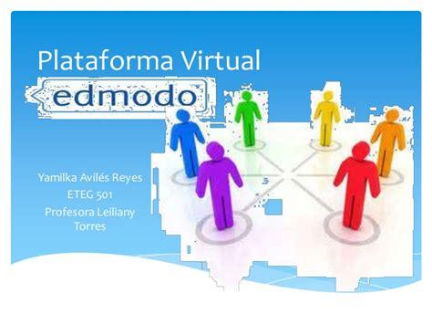 plataforma virtual plataforma virtual edmodo