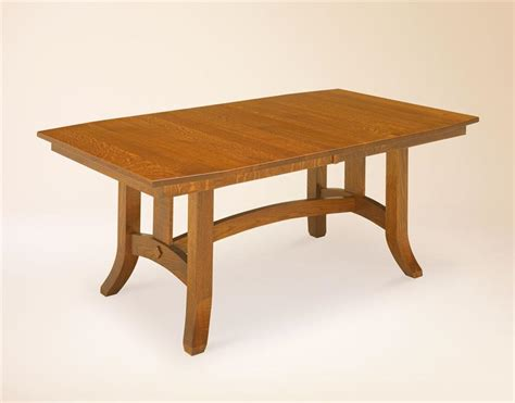 amish shaker hill trestle table trestle tables amish