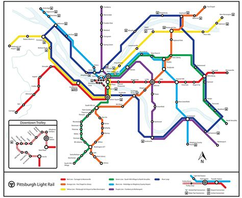 this imagined pittsburgh light rail map is tantalizing