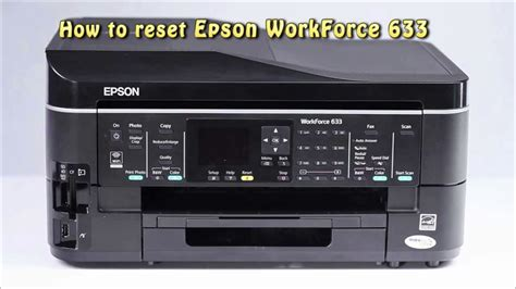 mp230 reset ink counter reset epson workforce 633 waste ink pad counter youtube