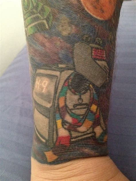 k9 tattoo k9 part of my doctor who sleeve doctorwho