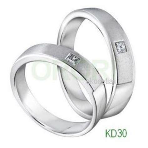Cincin Simple Elegan Model Doff Variasi Model cincin simple kd30 cincin kawin dan tunangan