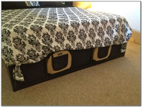 cal king bed frame with drawers ikea bed frame with drawers beds home design ideas