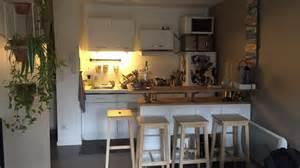 creer un comptoir bar cuisine meuble de cuisine sous bar