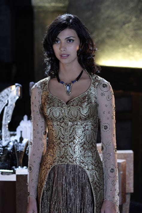 inara gold ori glz morena baccarin in some of traditional garb