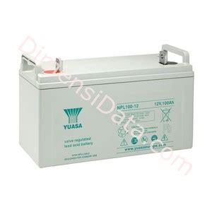 Baterai Ups Yuasa jual batery ups yuasa npl 100 12 harga murah