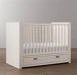 Crib With Storage Storage Panel Crib