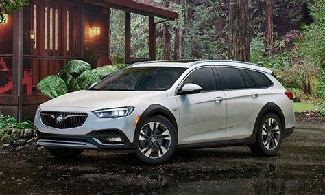 buick reshapes 2018 regal lineup with hatchback wagon