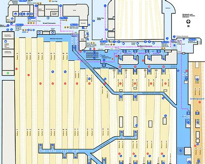 layout york train station grand central station map find out how to navigate this