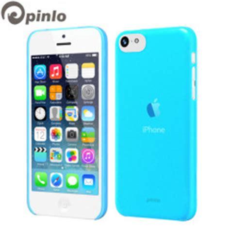 Pinlo Iphone 5 Slice 3 Transparent Blue Packing Rusak pinlo