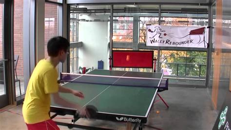 Wally Rebounder Table Tennis Ping Pong Advanced Rebound