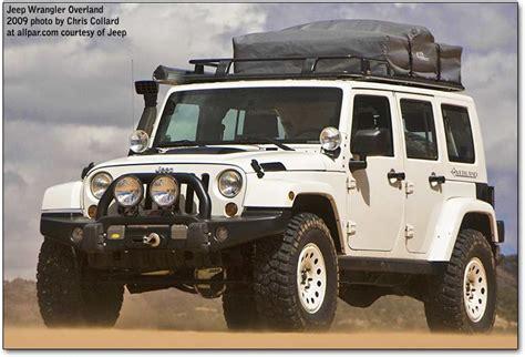 jeep wrangler overland interior mopar underground at moab 2009