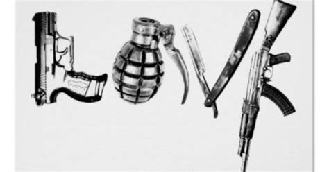 love tattoo gun grenade love poster tattoo tatting and tatoo