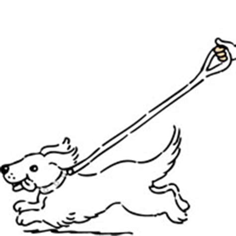 walking dog coloring page walking dog coloring page