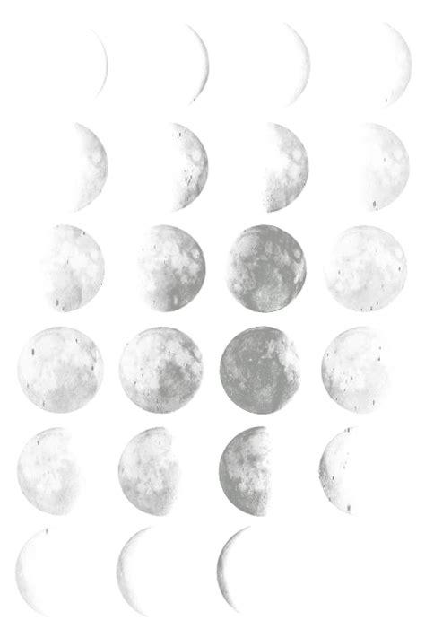 wallpaper tumblr transparent transparent moon phases tumblr