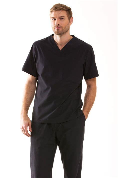 Black Scrub s scrub tops modern fit medelita scrubs