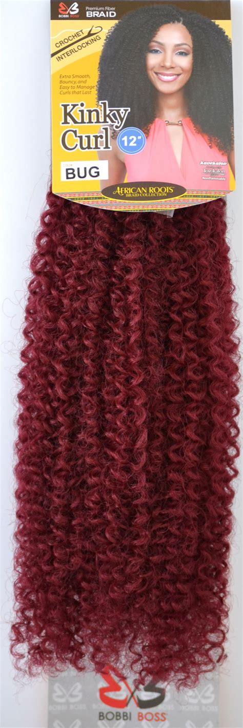 bobbi boss crochet hair bobbi boss african roots crochet braid kinky curl 12 inch