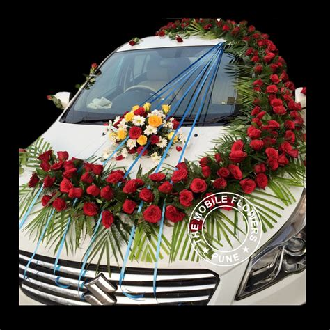 design flower decoration satndard car decoration online flowers and bouquet