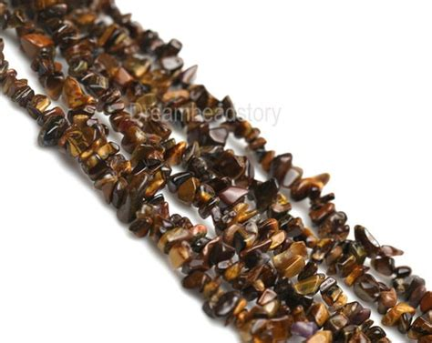 chips gemstone chip yellow tiger eye chip