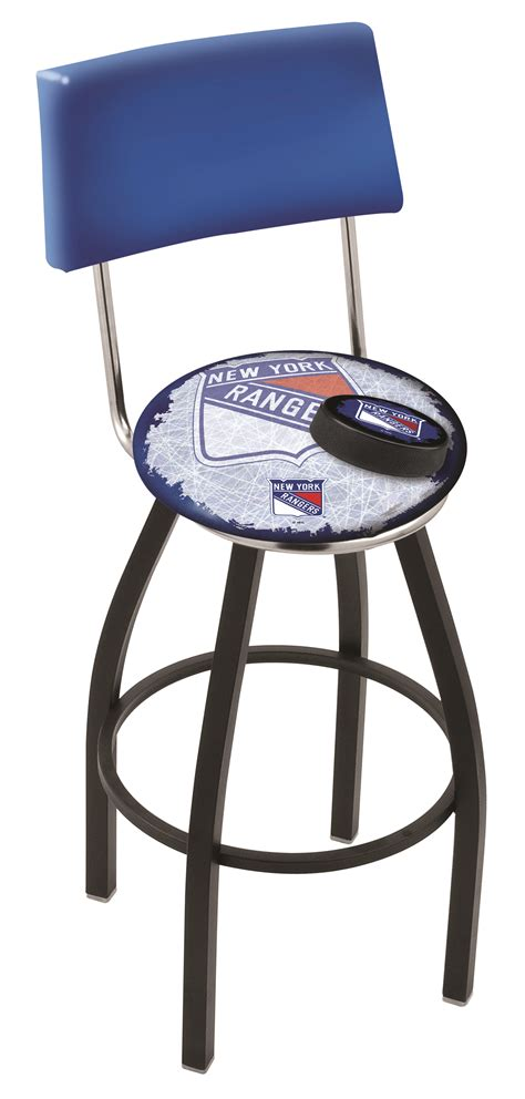 bar stools new york new york rangers bar stool w official nhl logo family