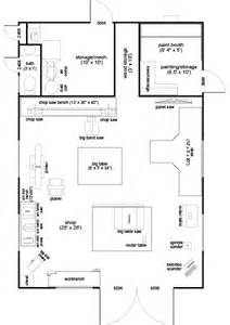 Home Shop Layout And Design by Woodshop Floor Plans And Layouts Ahomeplan Com